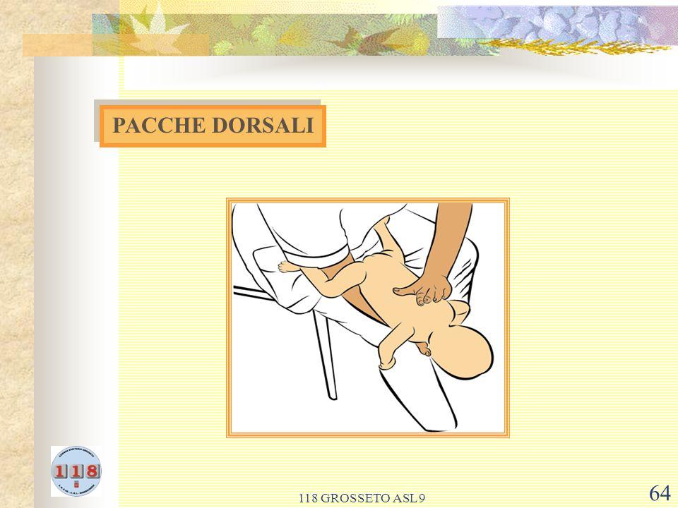 PACCHE DORSALI 118 GROSSETO ASL 9
