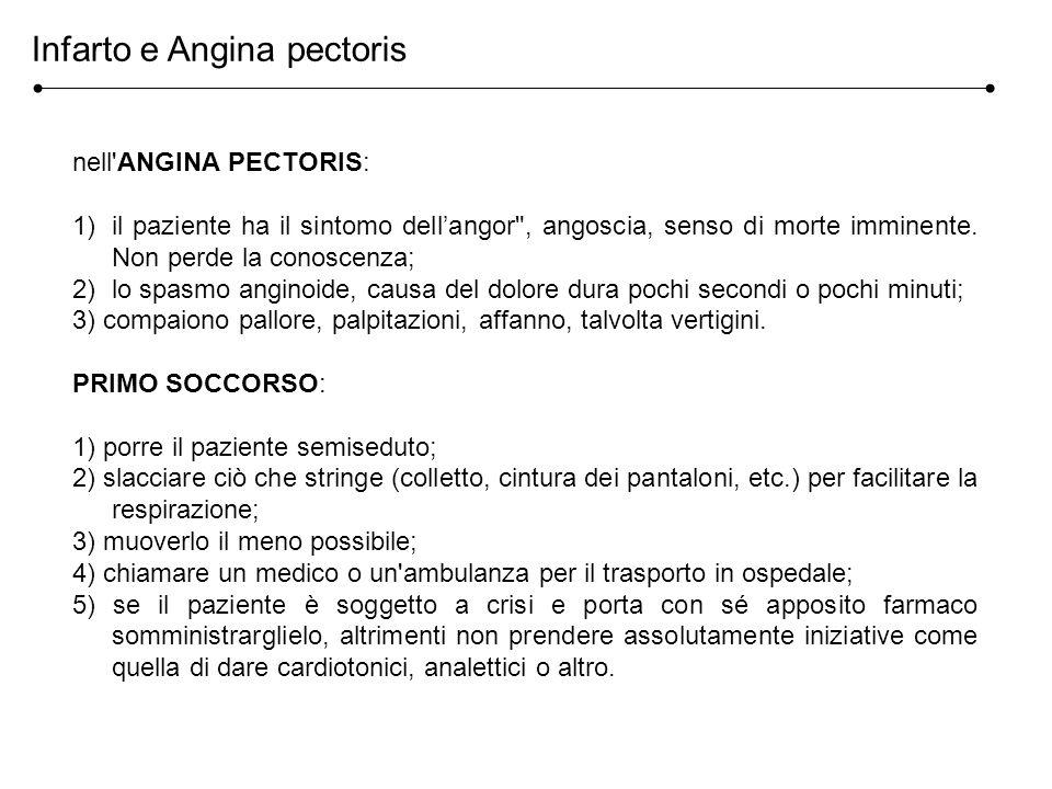 Infarto e Angina pectoris