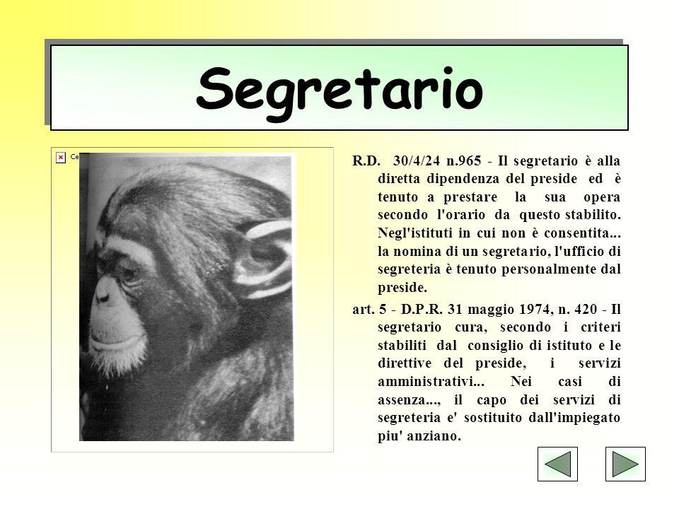 Segretario
