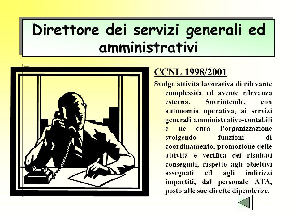Direttore dei servizi generali ed amministrativi