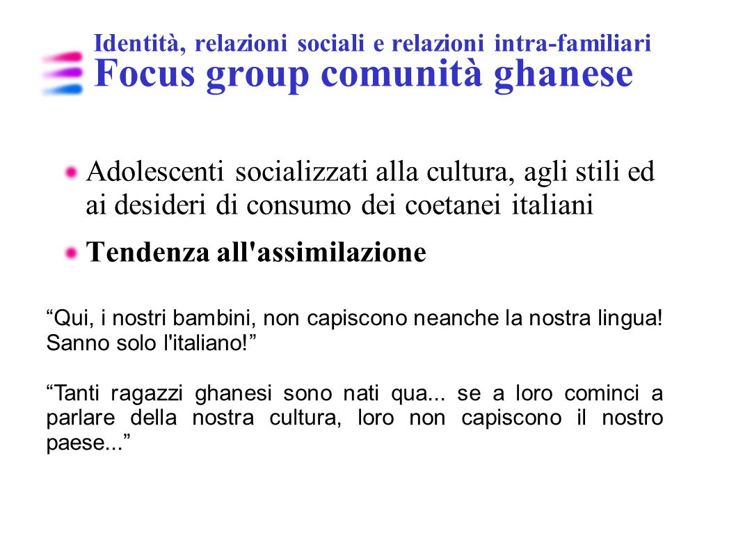 Tendenza all assimilazione