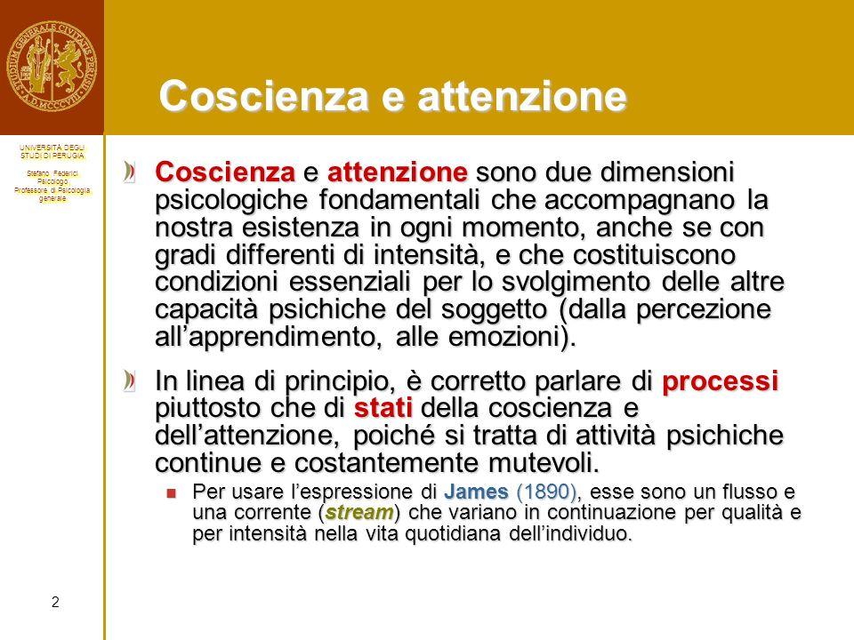 Coscienza e attenzione