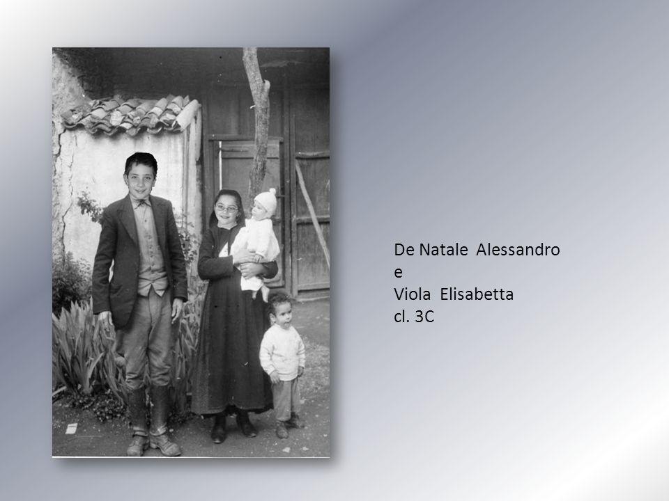 De Natale Alessandro e Viola Elisabetta cl. 3C