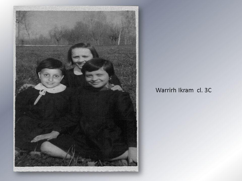 Warrirh Ikram cl. 3C