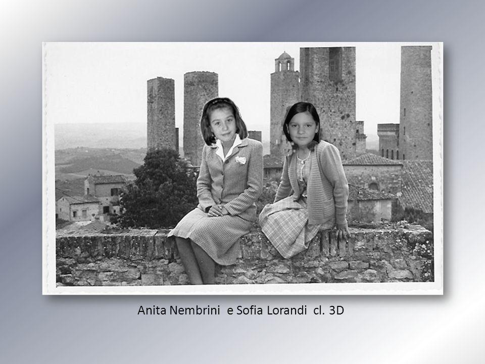 Anita Nembrini e Sofia Lorandi cl. 3D