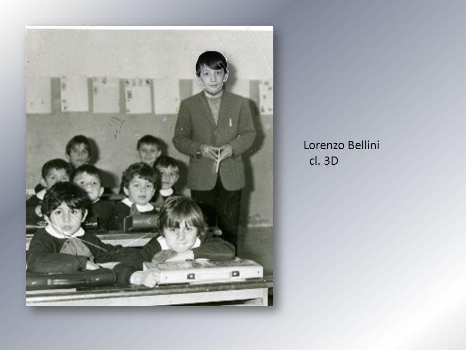 Lorenzo Bellini cl. 3D