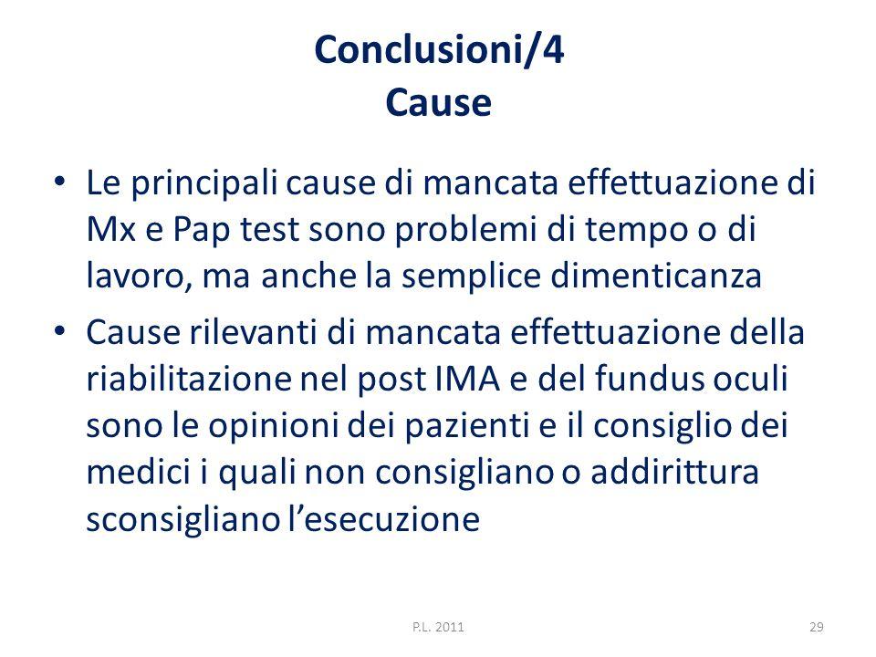 Conclusioni/4 Cause