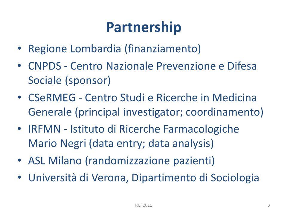 Partnership Regione Lombardia (finanziamento)