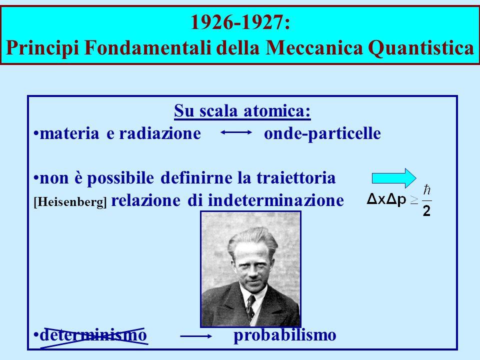 Principi Fondamentali della Meccanica Quantistica