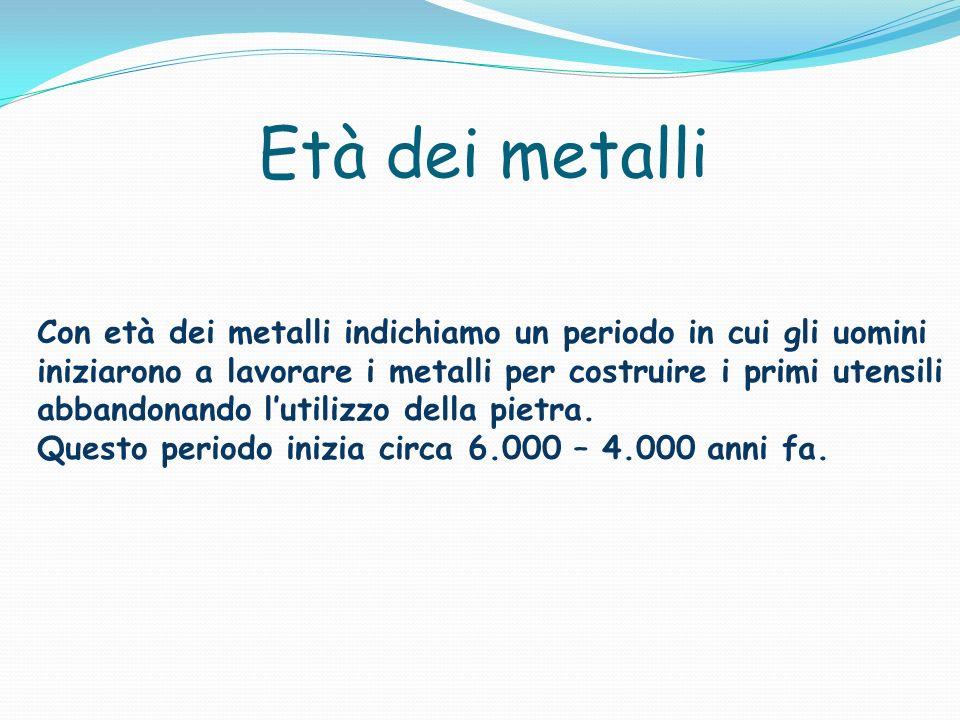Età dei metalli