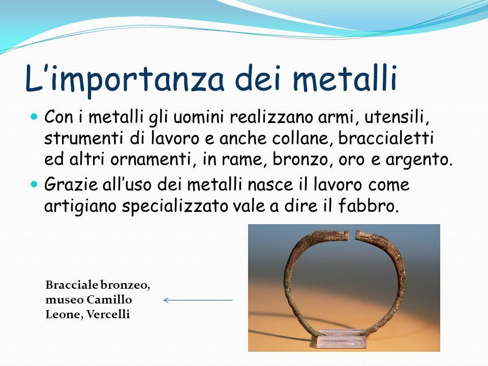 L'importanza dei metalli