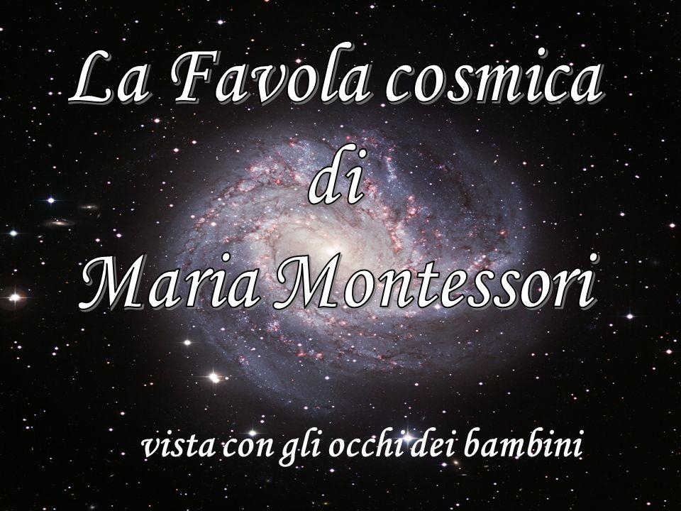 La Favola cosmica di Maria Montessori vista con gli occhi dei bambini