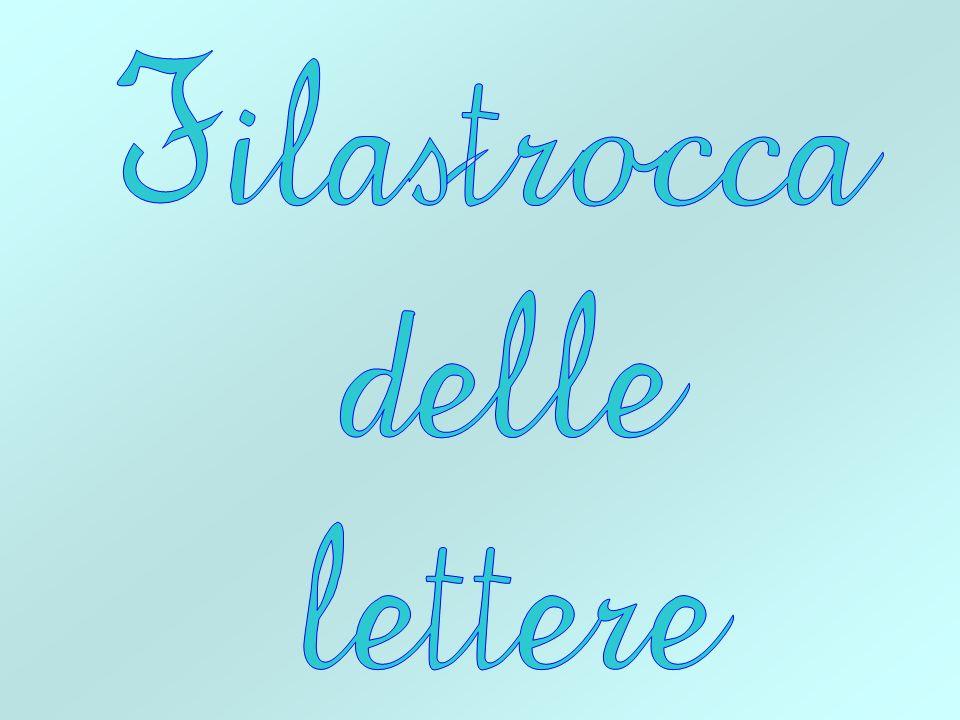 Filastrocca delle lettere