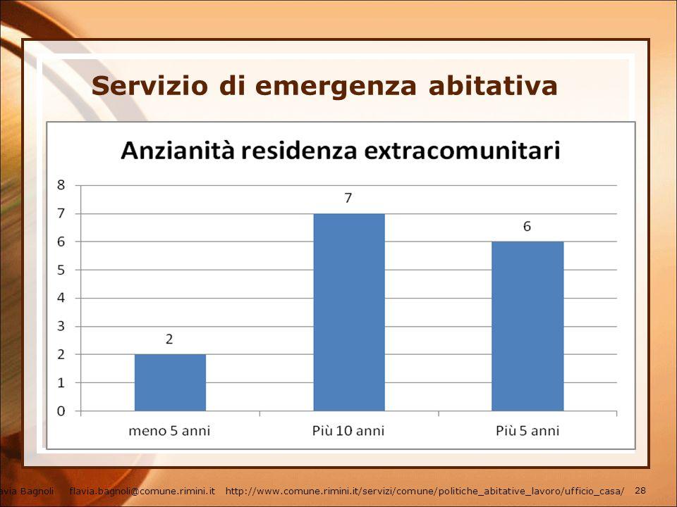 Servizio di emergenza abitativa