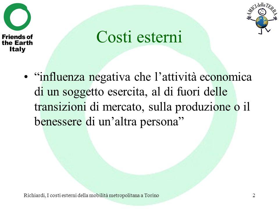 Costi esterni