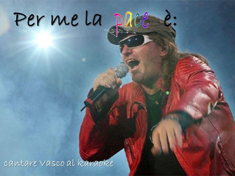 Per me la è: cantare Vasco al karaoke
