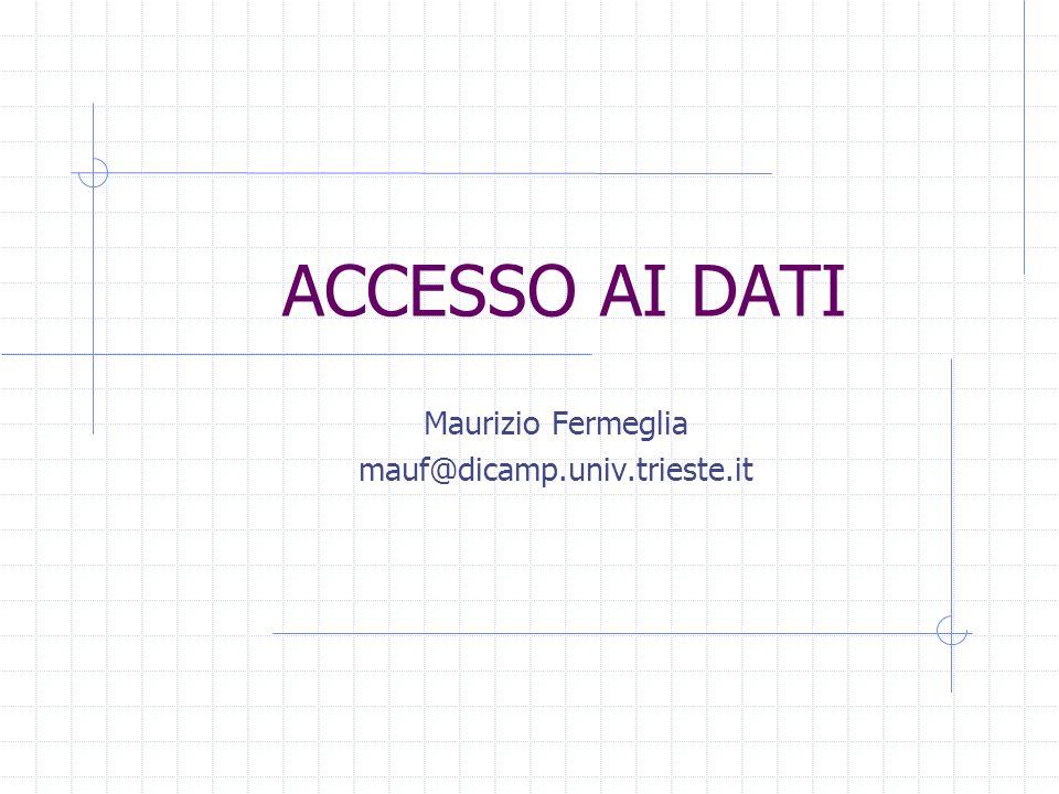 Maurizio Fermeglia mauf@dicamp.univ.trieste.it