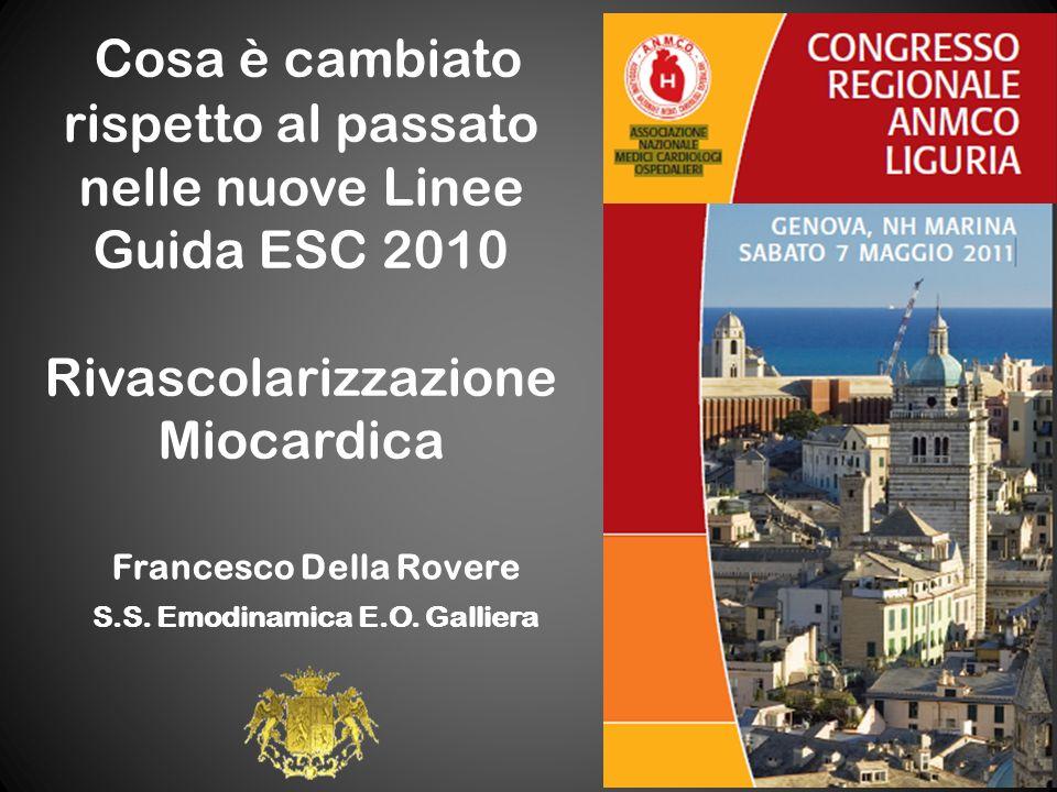 Francesco Della Rovere S.S. Emodinamica E.O. Galliera