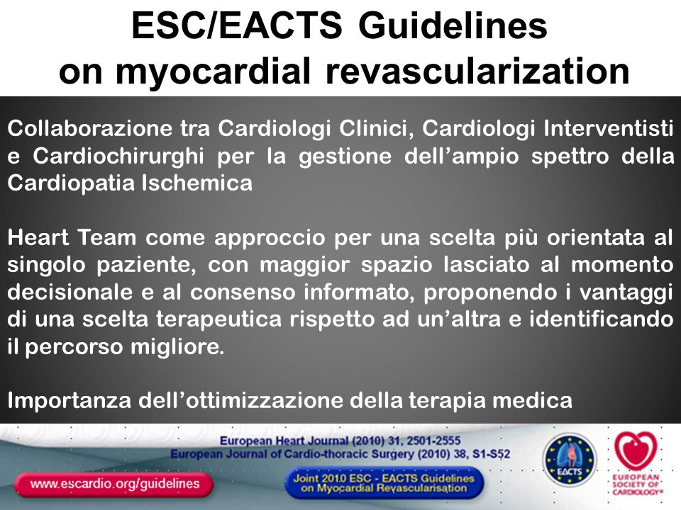 on myocardial revascularization