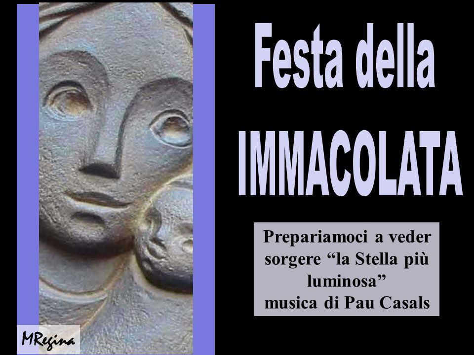 Festa della IMMACOLATA