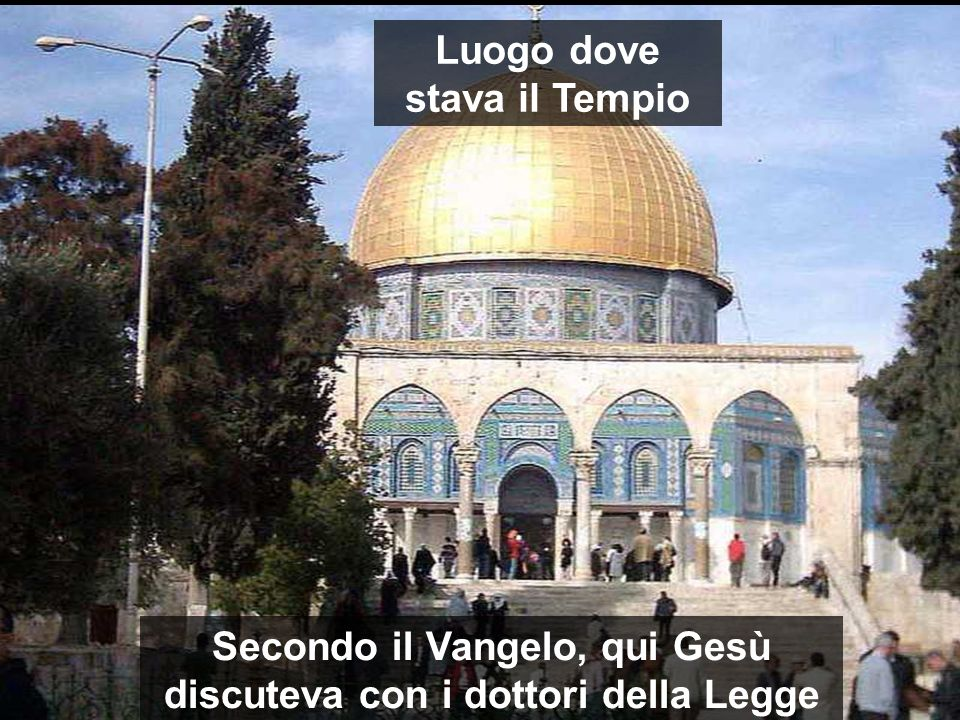 Luogo dove stava il Tempio