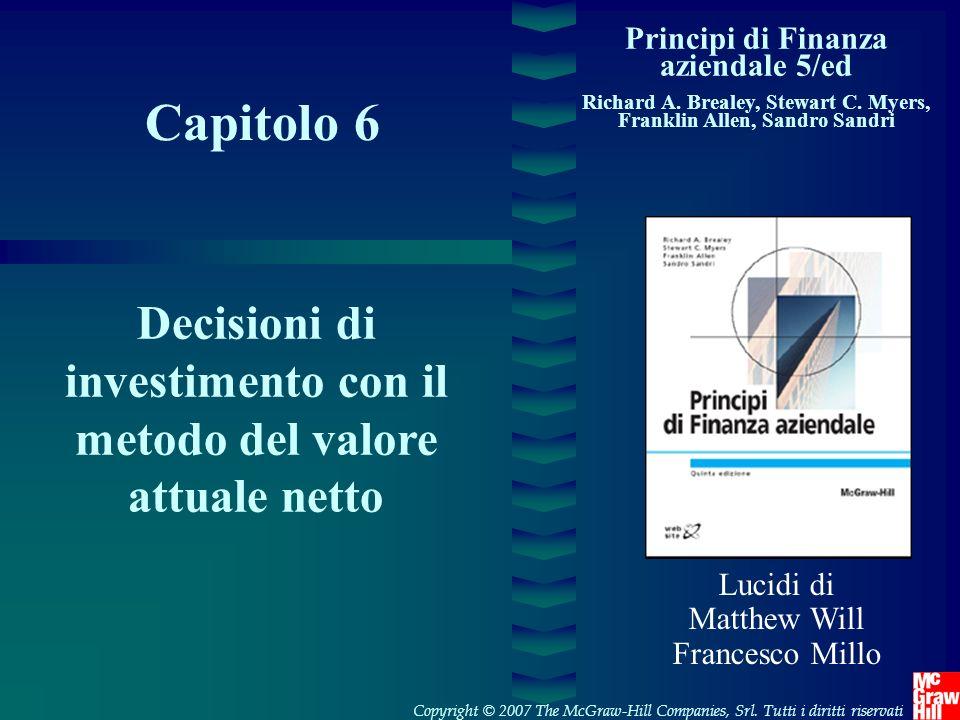 Principi di Finanza aziendale 5/ed