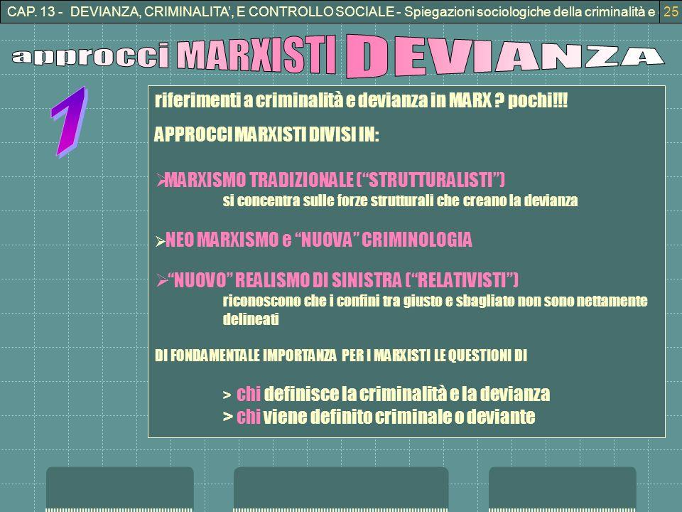 approcci MARXISTI DEVIANZA 7