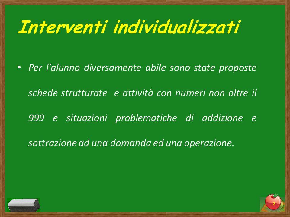 Interventi individualizzati