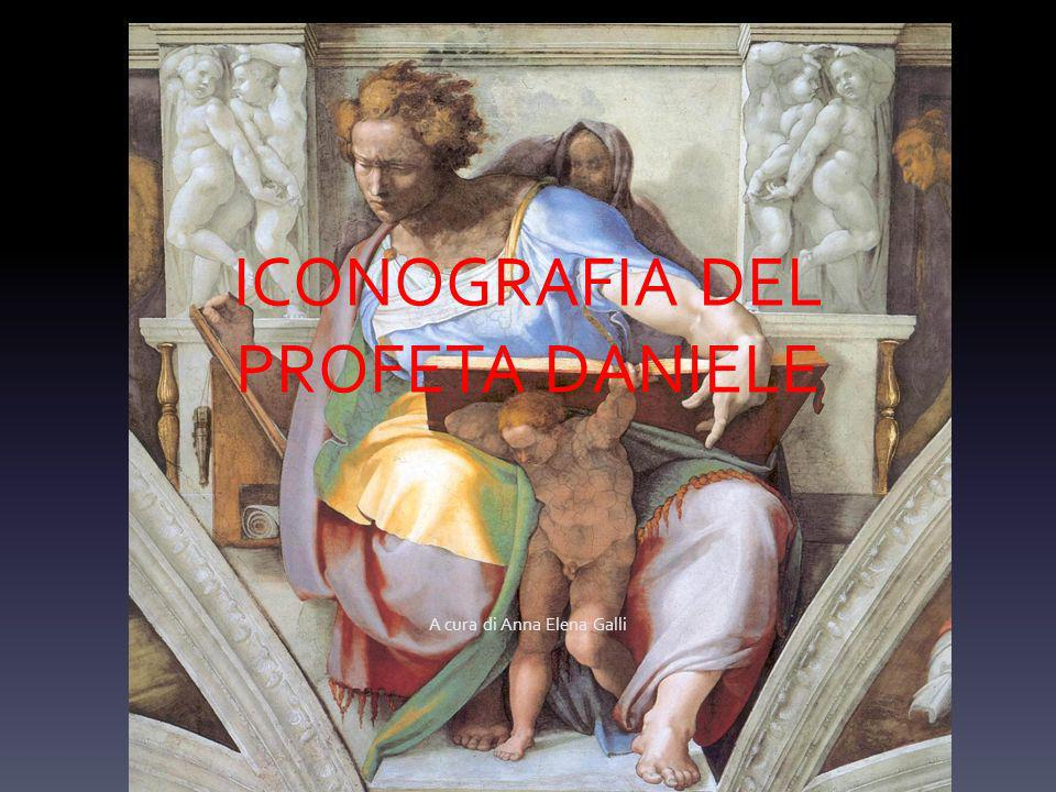 ICONOGRAFIA DEL PROFETA DANIELE