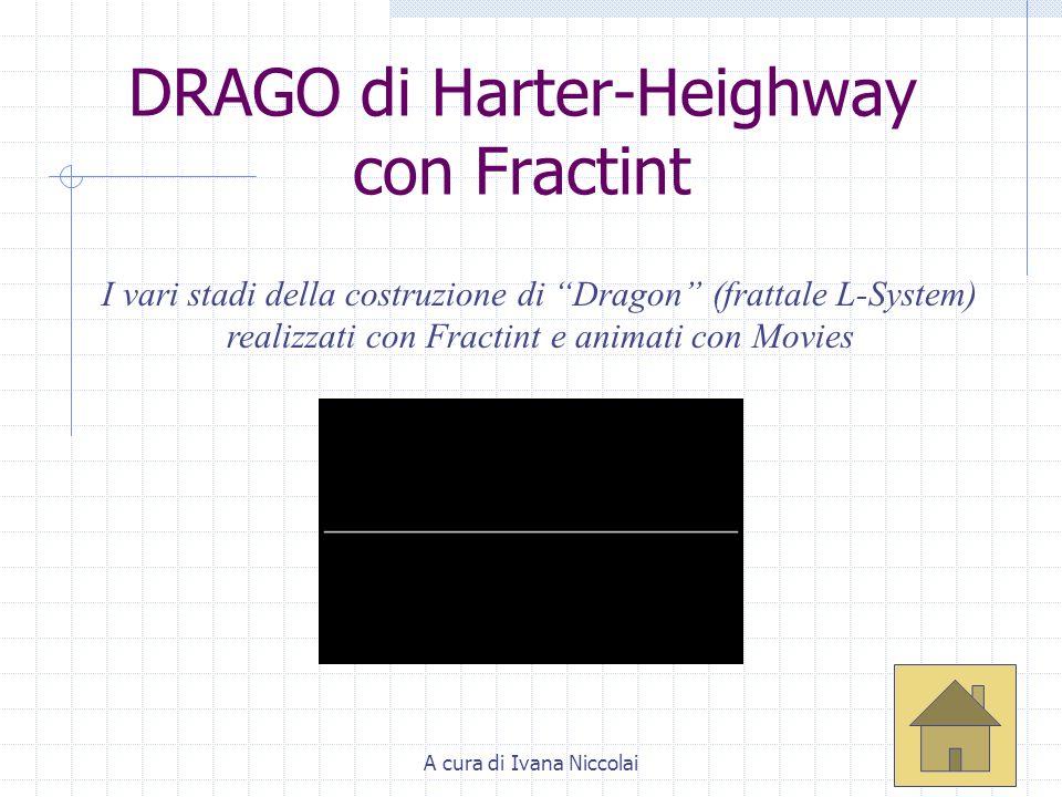 DRAGO di Harter-Heighway con Fractint