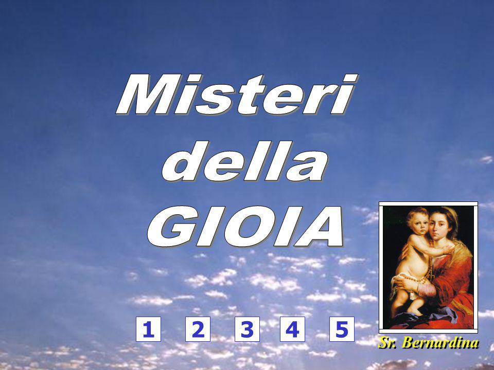 Misteri della GIOIA 1 2 3 4 5 Sr. Bernardina