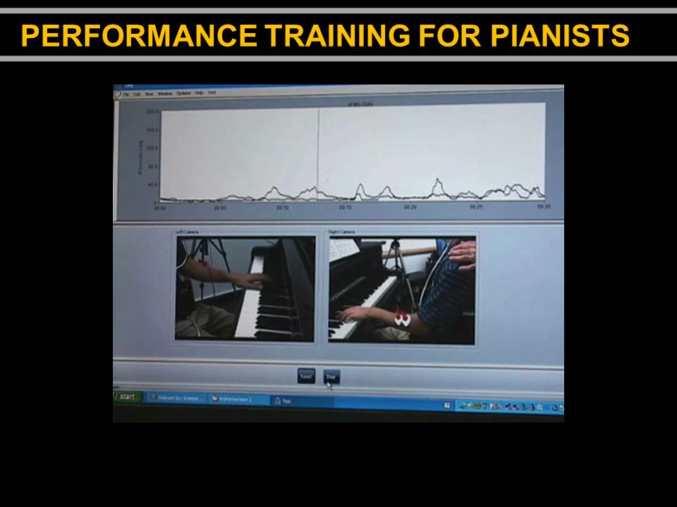 PERFORMANCE TRAINING FOR PIANISTS