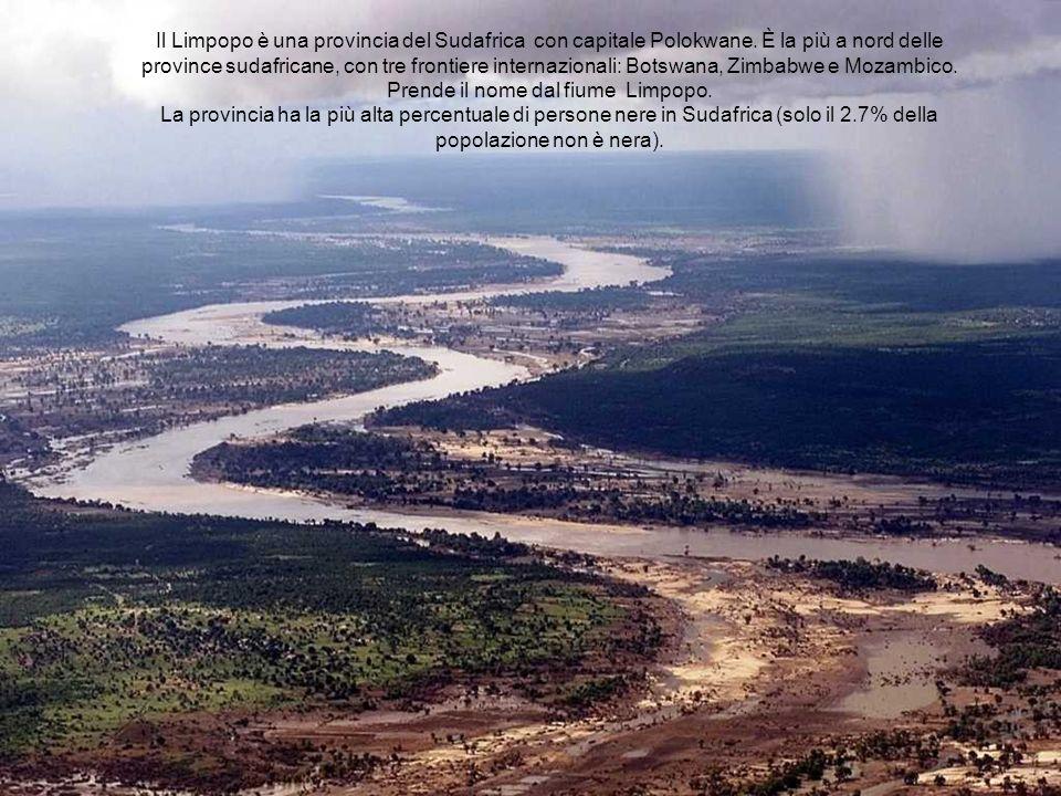 Il Limpopo è una provincia del Sudafrica con capitale Polokwane