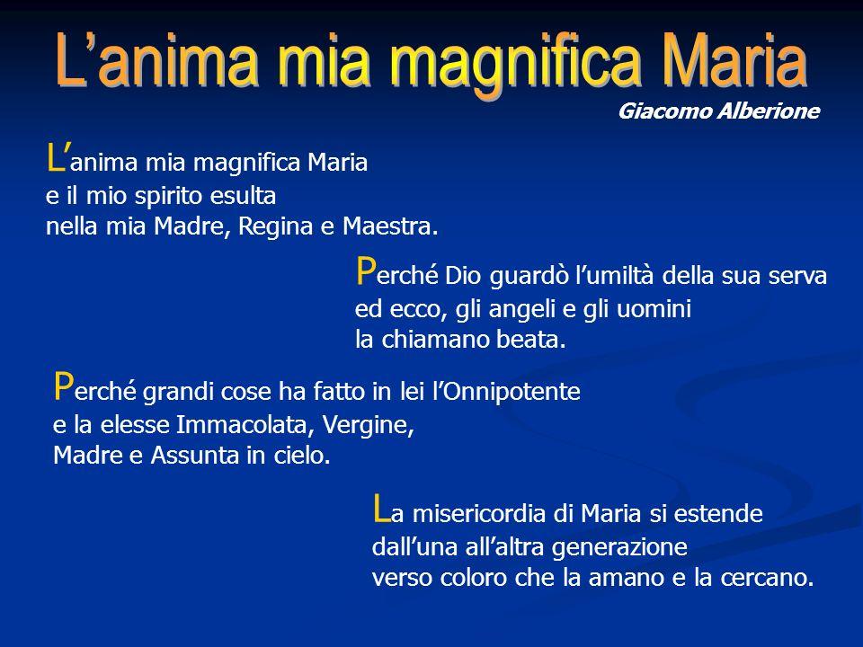 L'anima mia magnifica Maria
