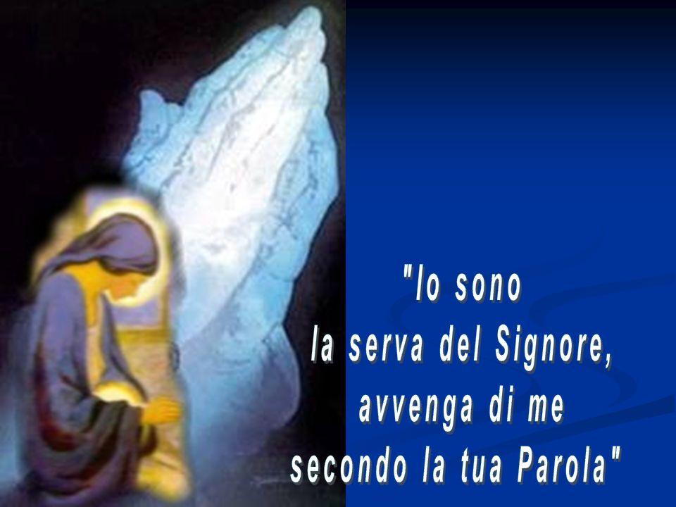 Io sono la serva del Signore, avvenga di me secondo la tua Parola