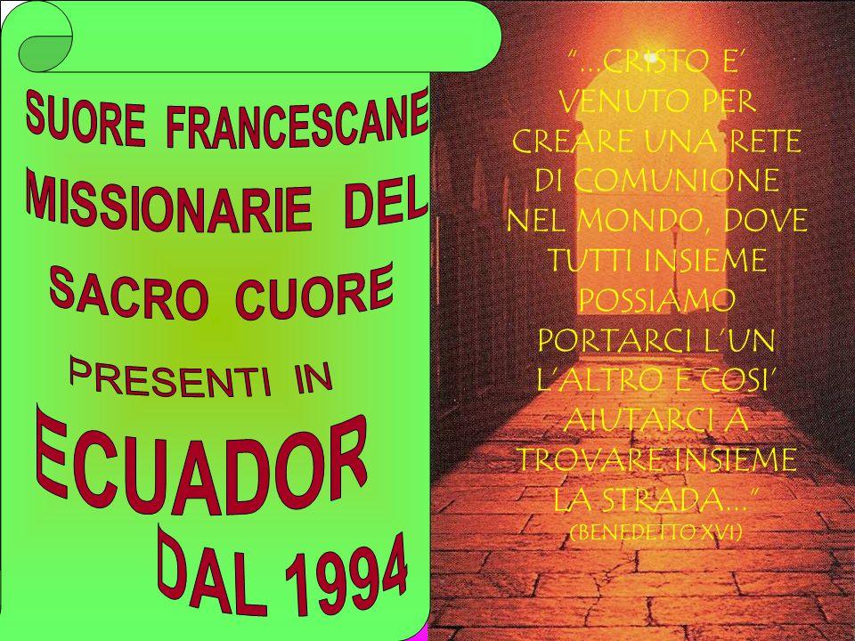 ...CRISTO E' VENUTO PER CREARE UNA RETE DI COMUNIONE NEL MONDO, DOVE TUTTI INSIEME POSSIAMO PORTARCI L'UN L'ALTRO E COSI' AIUTARCI A TROVARE INSIEME LA STRADA... (BENEDETTO XVI)