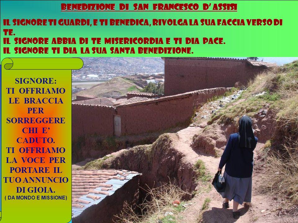 BENEDIZIONE DI SAN FRANCESCO D' ASSISI