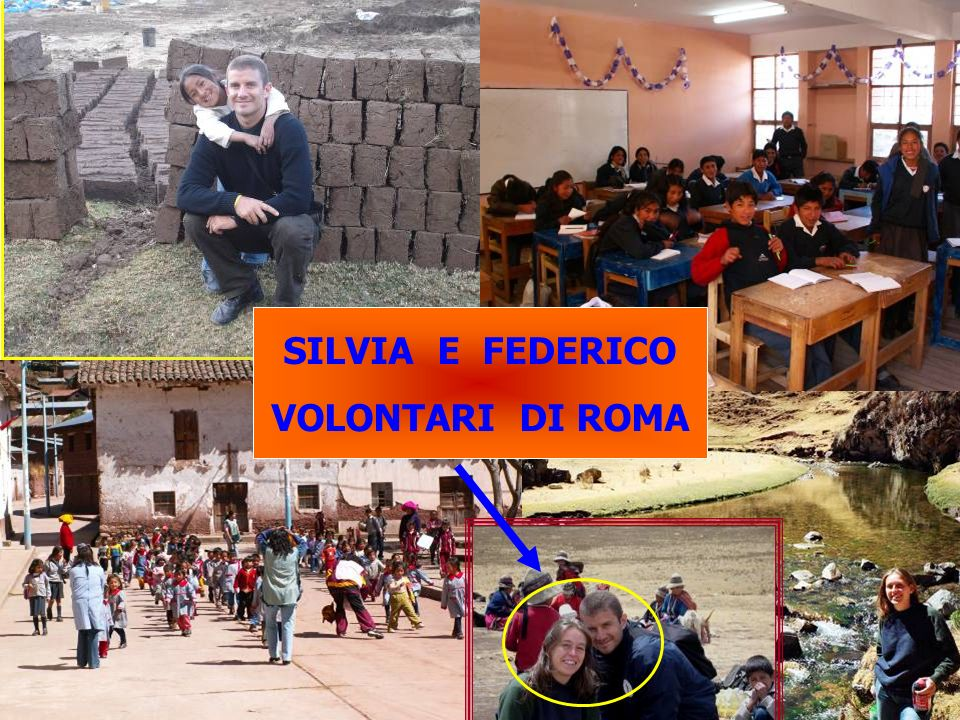 SILVIA E FEDERICO VOLONTARI DI ROMA