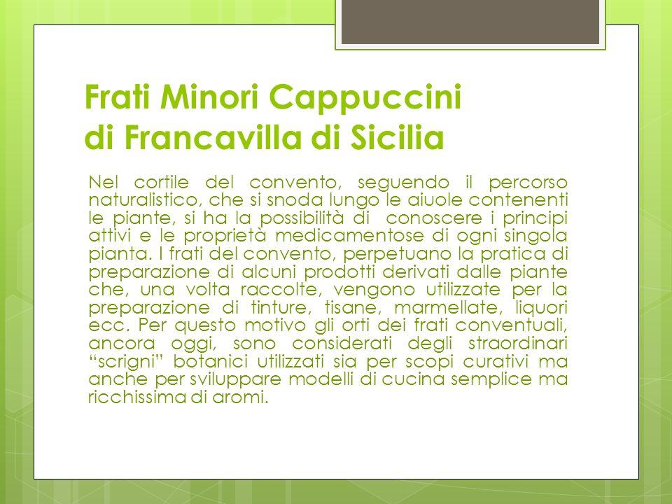 Frati Minori Cappuccini di Francavilla di Sicilia