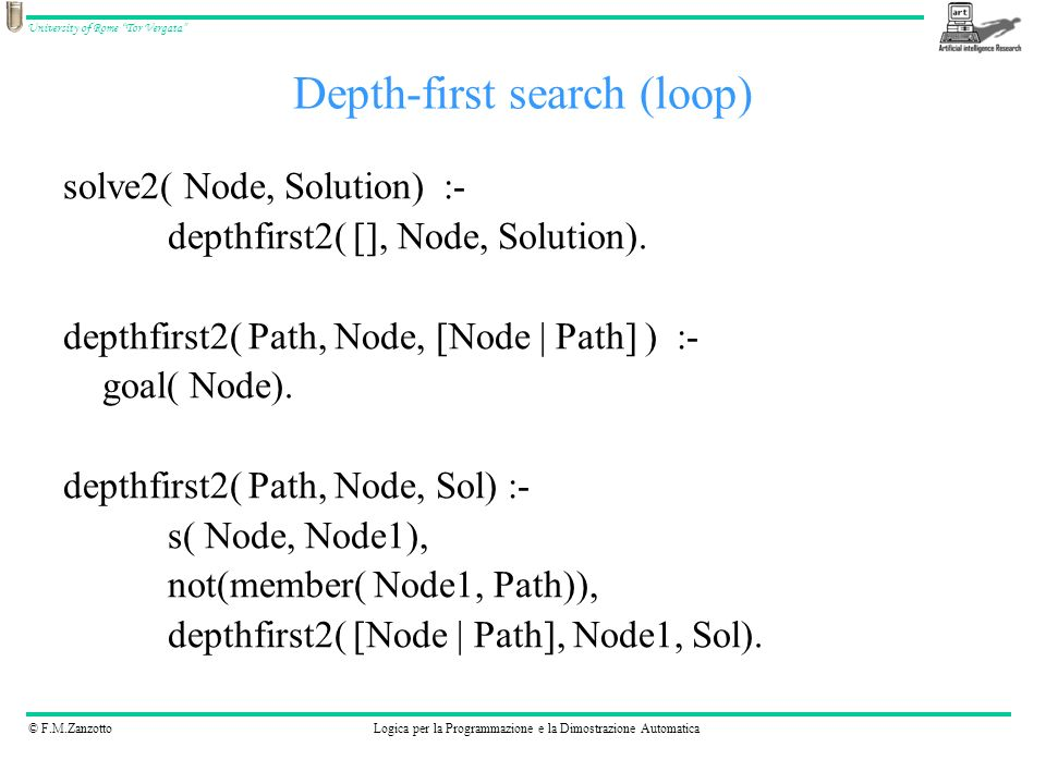Depth-first search (loop)