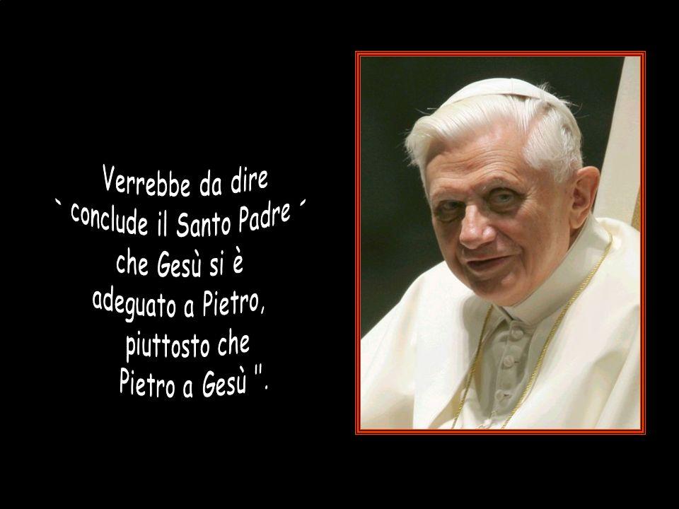 - conclude il Santo Padre -