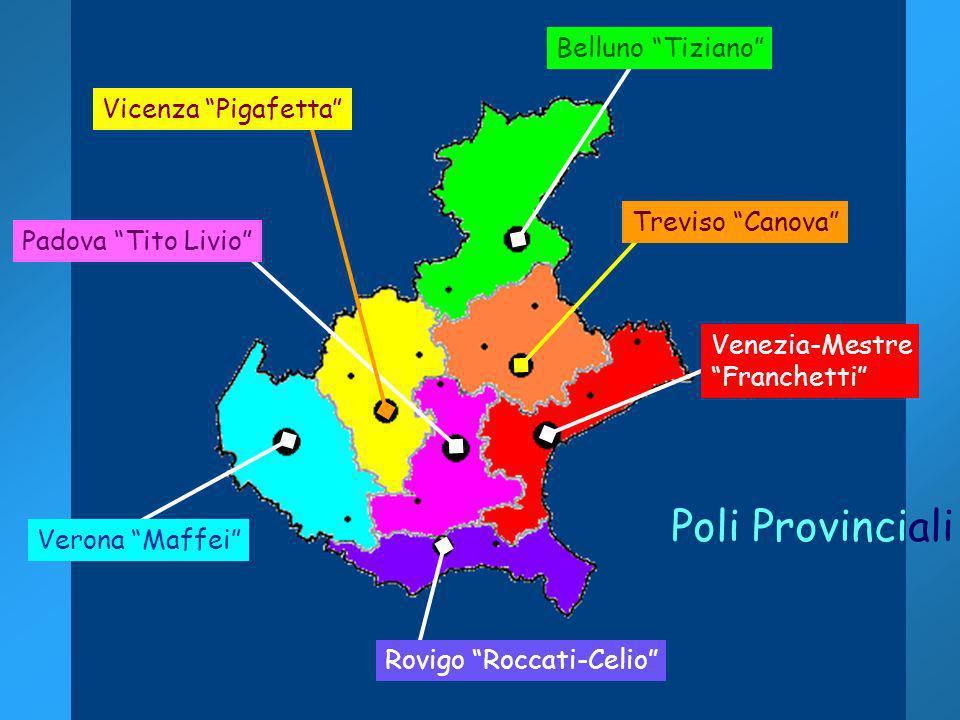 Poli Provinciali Belluno Tiziano Vicenza Pigafetta
