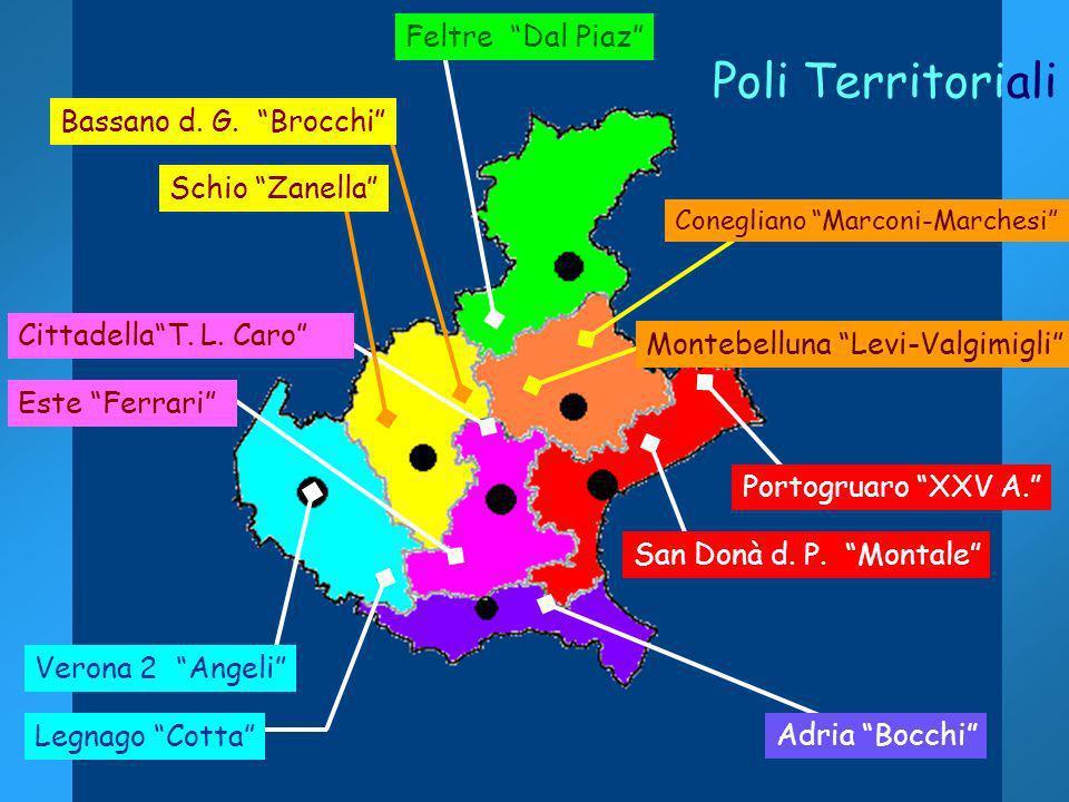 Poli Territoriali Feltre Dal Piaz Bassano d. G. Brocchi