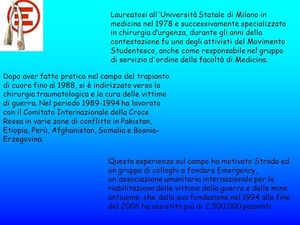 Laureatosi all Università Statale di Milano in medicina nel 1978 e successivamente specializzato in chirurgia d'urgenza, durante gli anni della contestazione fu uno degli attivisti del Movimento Studentesco, anche come responsabile nel gruppo di servizio d ordine della facoltà di Medicina.