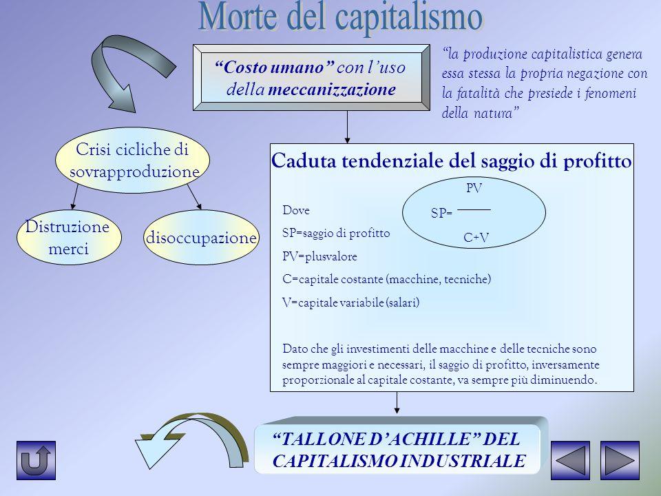 TALLONE D'ACHILLE DEL CAPITALISMO INDUSTRIALE
