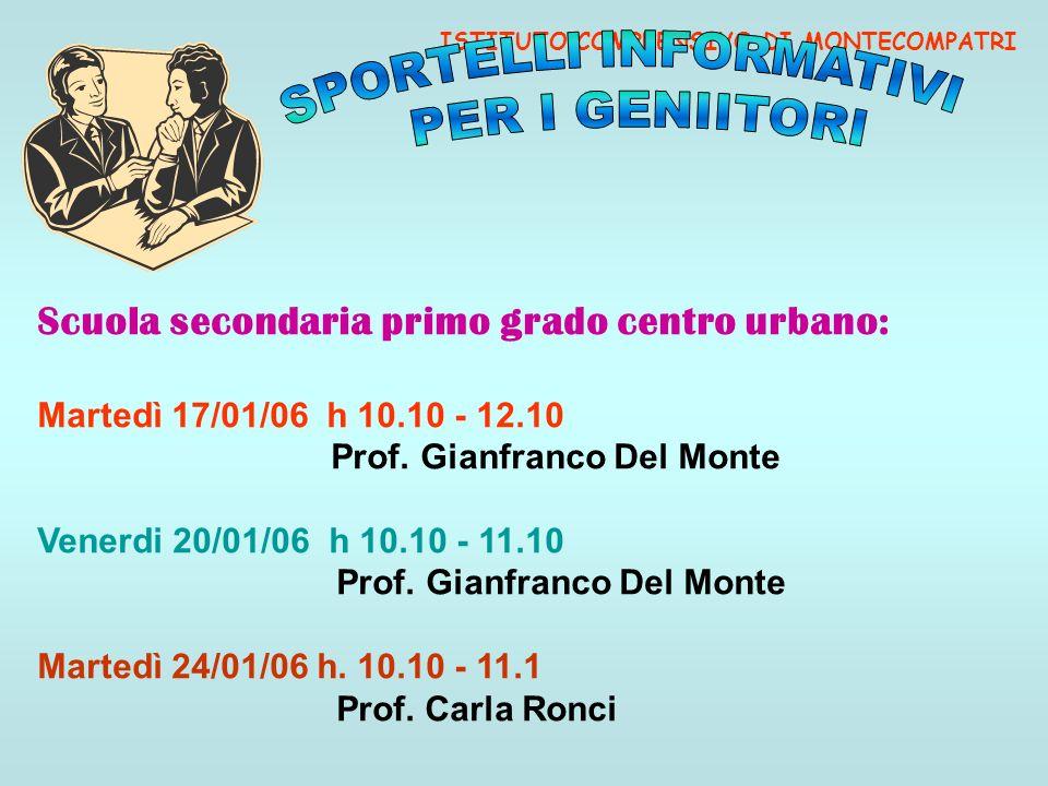 Prof. Gianfranco Del Monte