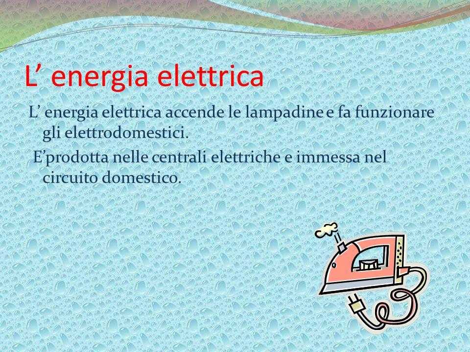 L' energia elettrica