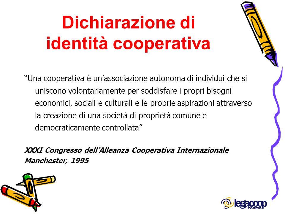 Dichiarazione di identità cooperativa