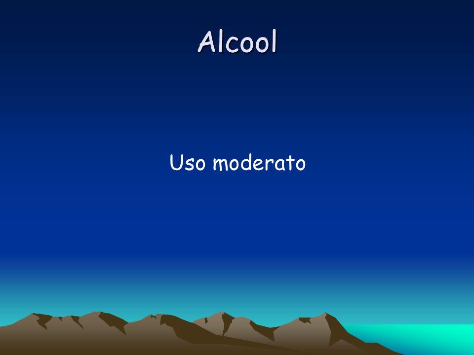 Alcool Uso moderato