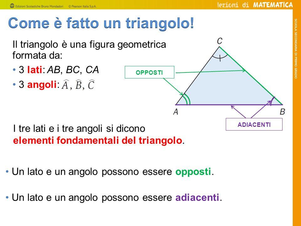 Come è fatto un triangolo!